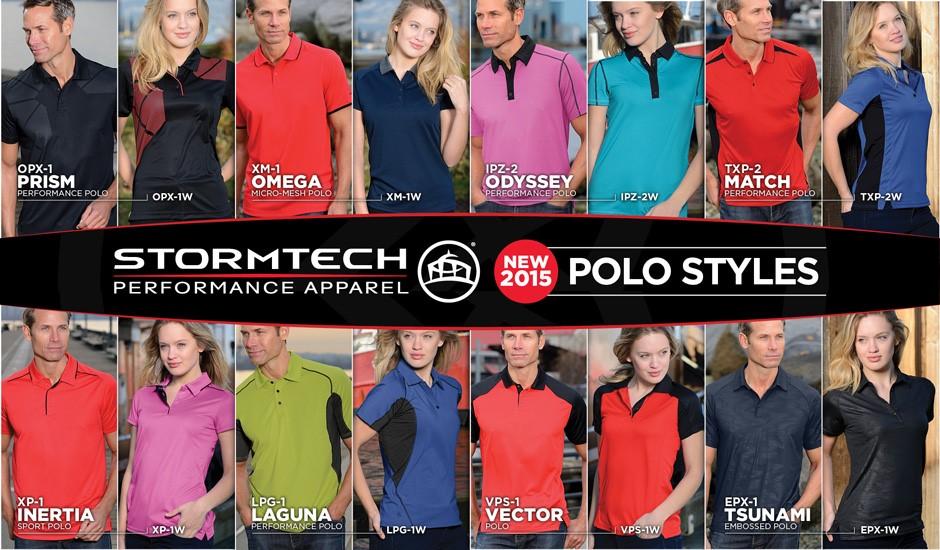 Stormtech Polos Corporate Polos