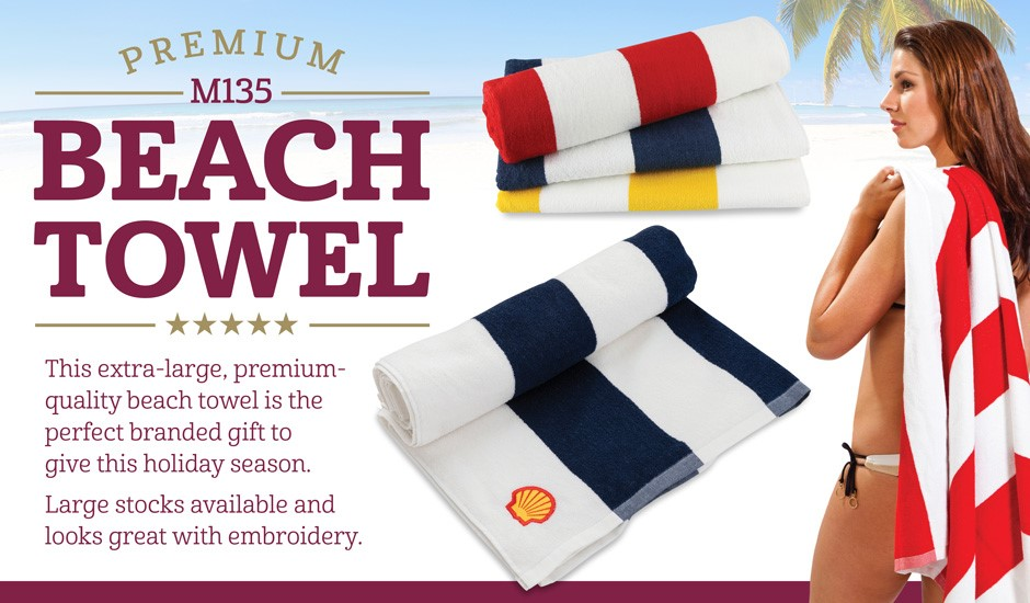 Striped Towel - Beach Towel