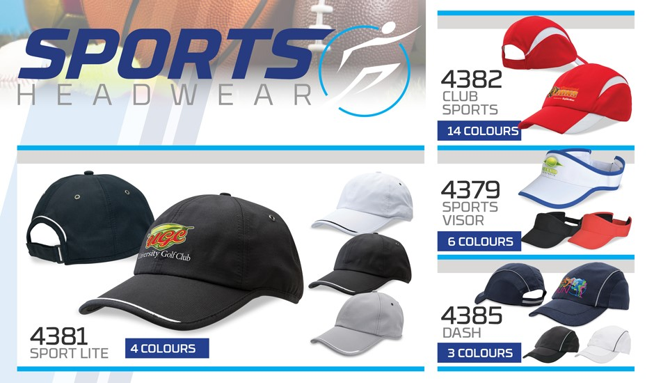 Sports Headwear Caps