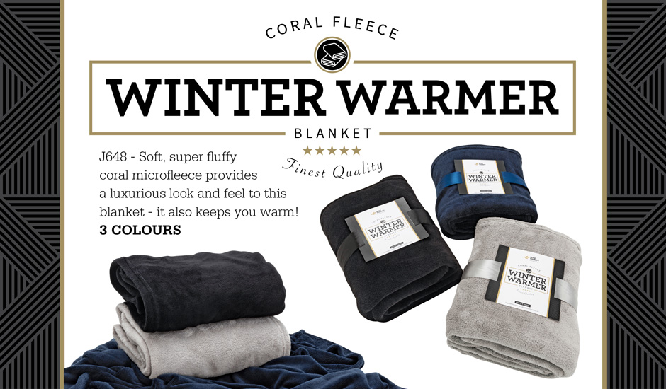 Winter Warmer Fleece Blanket