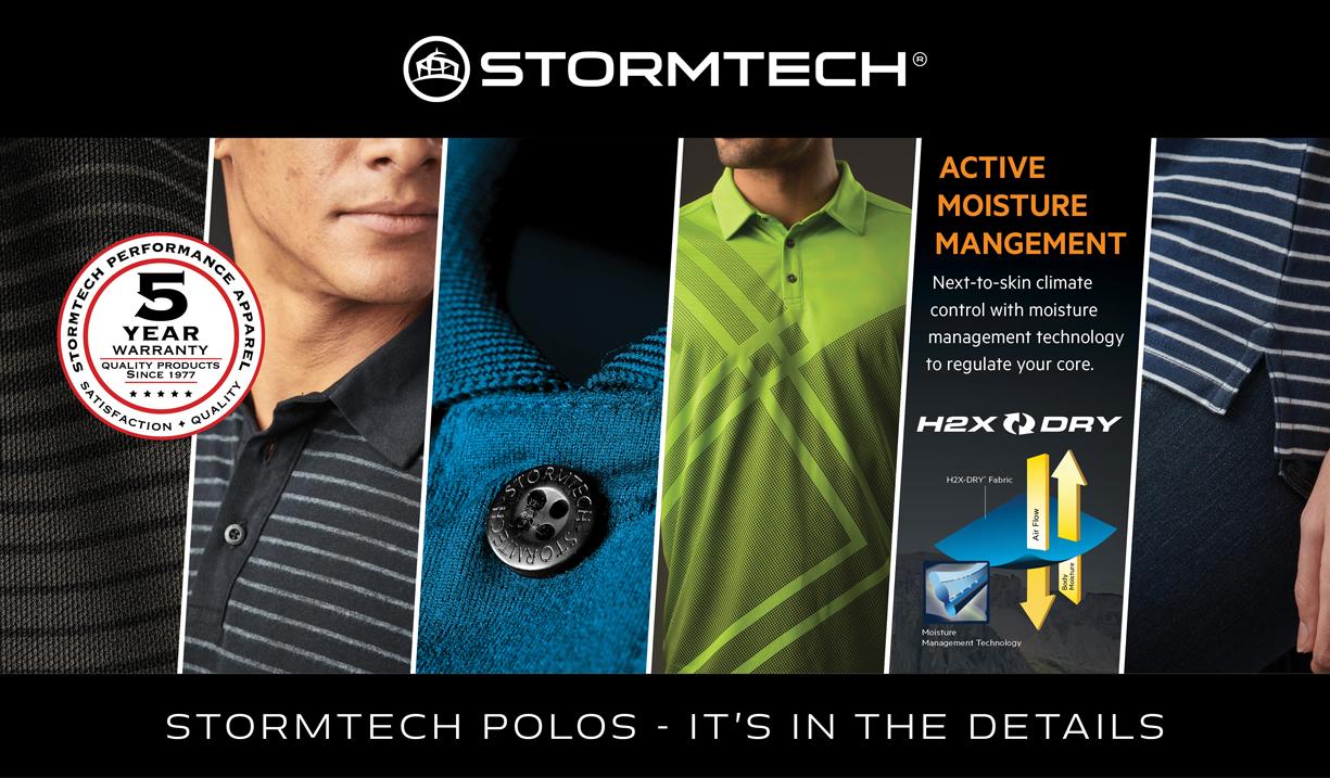 Stormtech Supercars Sponsor premium polos