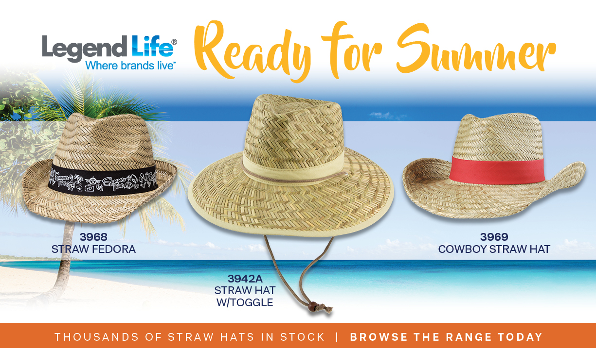 Straw Hats - ready for summer