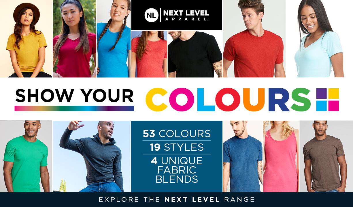 Next Level Apparel - Show your colours